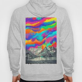 Sky fall, Melting Northern Lights Hoody