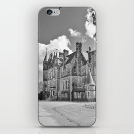 Castle B&W iPhone Skin