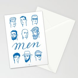 Men (are not all the same) Stationery Cards