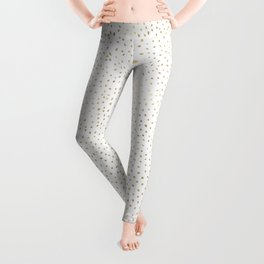 Dotted Gold Leggings