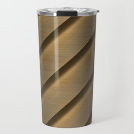 Copper Brass Metal Pipe Travel Mug