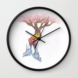 Fish Legs Wall Clock
