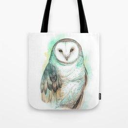 Owl Watercolor painting Tote Bag