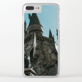Hogwarts Castle Clear iPhone Case