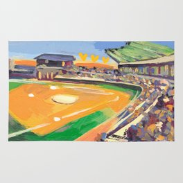 LSU Softball Rug