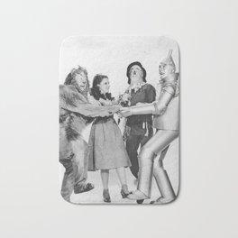 Vintage wizard | Oz | Vintage movie | Grey | Flying monkies Bath Mat