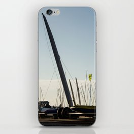 Sailboats Chars à voile iPhone Skin