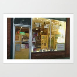 the art studio Art Print
