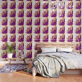 Pineapple Color Pop Wallpaper