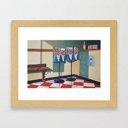 Gumball Machines  Framed Art Print