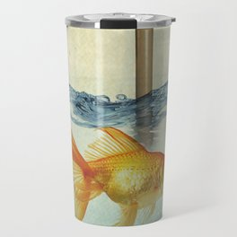 periscope goldfish Travel Mug