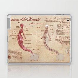 Anatomy of the Mermaid Laptop & iPad Skin