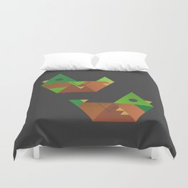 Mallard Ducks Duvet Cover