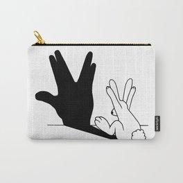 Rabbit Trek Hand Shadow Carry-All Pouch