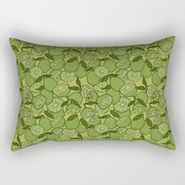 Lime Greenery Rectangular Pillow