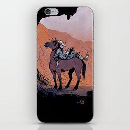 Reading Cowboy iPhone Skin