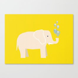 Magic Elephant II Canvas Print