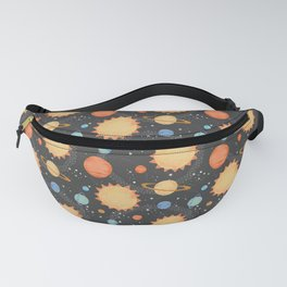 Our Solar System Fanny Pack