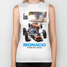 Monaco 1967 Grand Prix Biker Tank