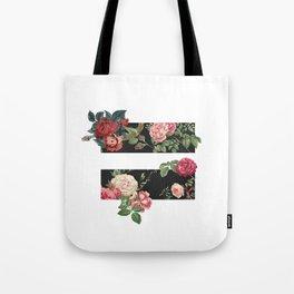 floral equality symbol Tote Bag