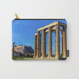 ruins of ancient temple of Zeus, Athens, Greece, HDR photo Carry-All Pouch