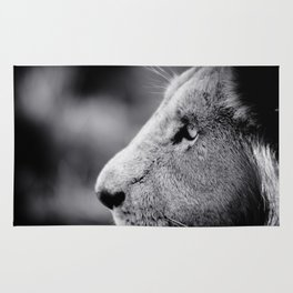 Lion Profile Rug