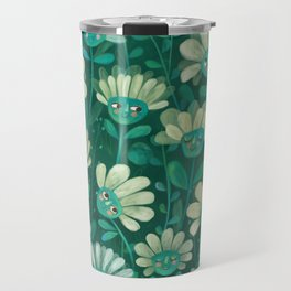daisies Travel Mug