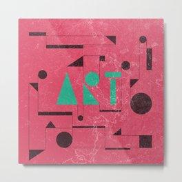 Art, the universal language. Metal Print