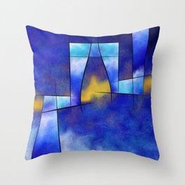 Kefharia V1 - cubic vision Throw Pillow