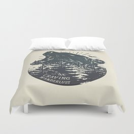 Craving wanderlust II Duvet Cover