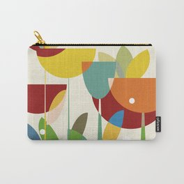 mid century Carry-All Pouch
