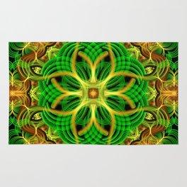 Forest Heart Mandala Rug