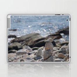 Balancing Serenity Rocks Laptop & iPad Skin