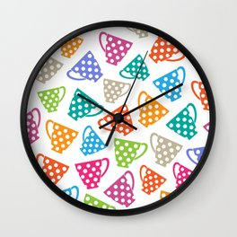 Funny cups Wall Clock