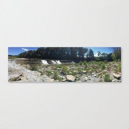 Waterfall Panorama  Canvas Print