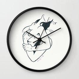 Embrace Wall Clock