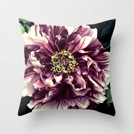 Peony Flower A103 Throw Pillow