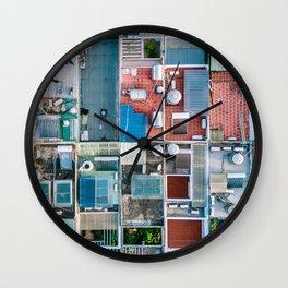 Vietnam sky view Wall Clock