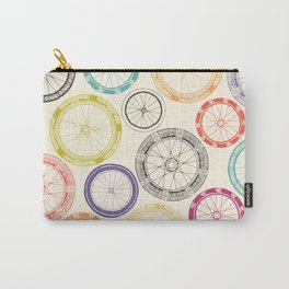 bike wheels Carry-All Pouch