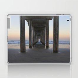 Scripps Pier at Sunrise (Digital) Laptop & iPad Skin