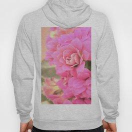 peach colored flower Hoody