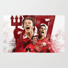 Man United Number 7 Rug