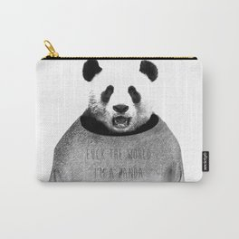 F*ck the world, I'm a Panda. Carry-All Pouch
