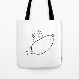 Kevin The Flying Wurst Tote Bag