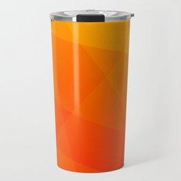 Orange Sunset Travel Mug