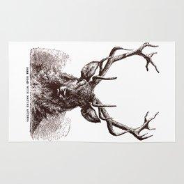 Mature Antlers Rug