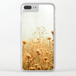 Daybreak in the Meadow Clear iPhone Case