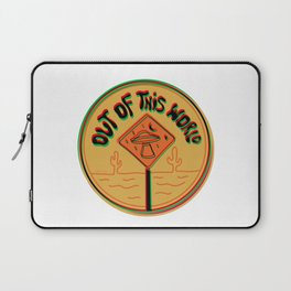 Out of this world in 3d Laptop Sleeve