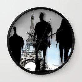 Les Parisiennes Wall Clock
