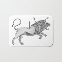 Mesopotamian Lion Bath Mat